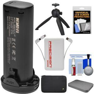 Removu K1 Smart Li Ion Rechargeable Battery With Power Bank Charger