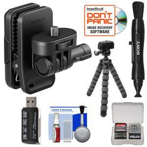 Sony Aka Cap1 Cap Clip For Action Cam With Flex Tripod Lens Pen