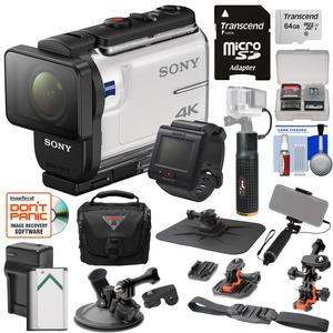 Sony Action Cam Fdr X3000r Wi Fi Gps 4k Hd Video Camera Camcorder