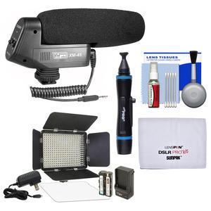 Vidpro Xm 45 Professional Condenser Shotgun Video Microphone