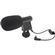Vidpro Mini Condenser Microphone for DSLRs, Camcorders & Video Cameras