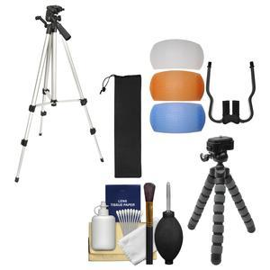 Vivitar Hf Tr59 59 Photo Video Tripod With Carrying Case With