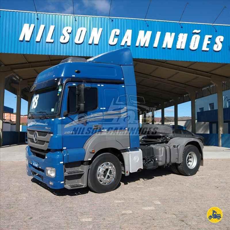 MERCEDES-BENZ MB 2041 238000km 2017/2018 Nilson Caminhoes