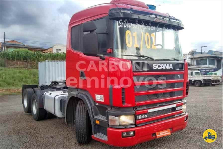 SCANIA SCANIA 124 400 639427km 2001/2002 Carboni Iveco