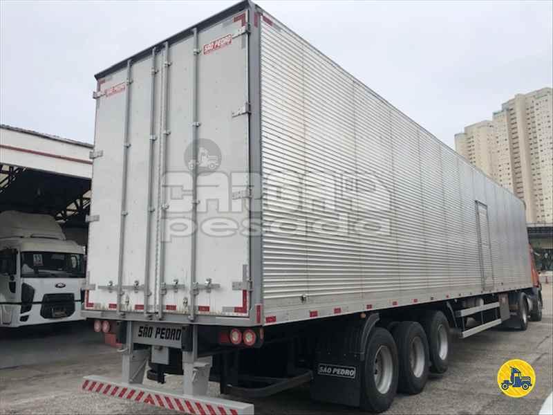 SEMI-REBOQUE BAU FURGÃO  2019/2020 Carga Pesada Caminhões