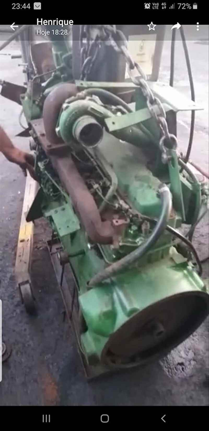 Motor John Deere 6059