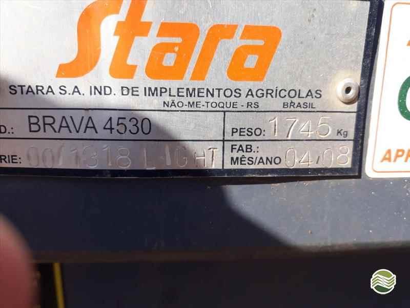 STARA BRAVA 4530  2008/2008 Guimáquina Implementos Agrícolas - Jacto
