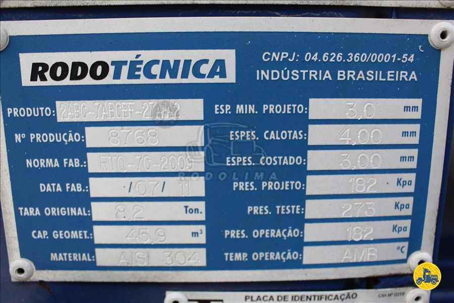 SEMI-REBOQUE TANQUE INOX  2011/2011 Rodolima Caminhões