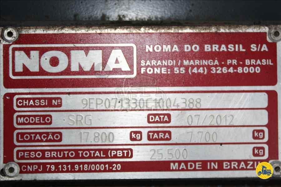 SEMI-REBOQUE GRANELEIRO  2012/2012 Rodolima Caminhões