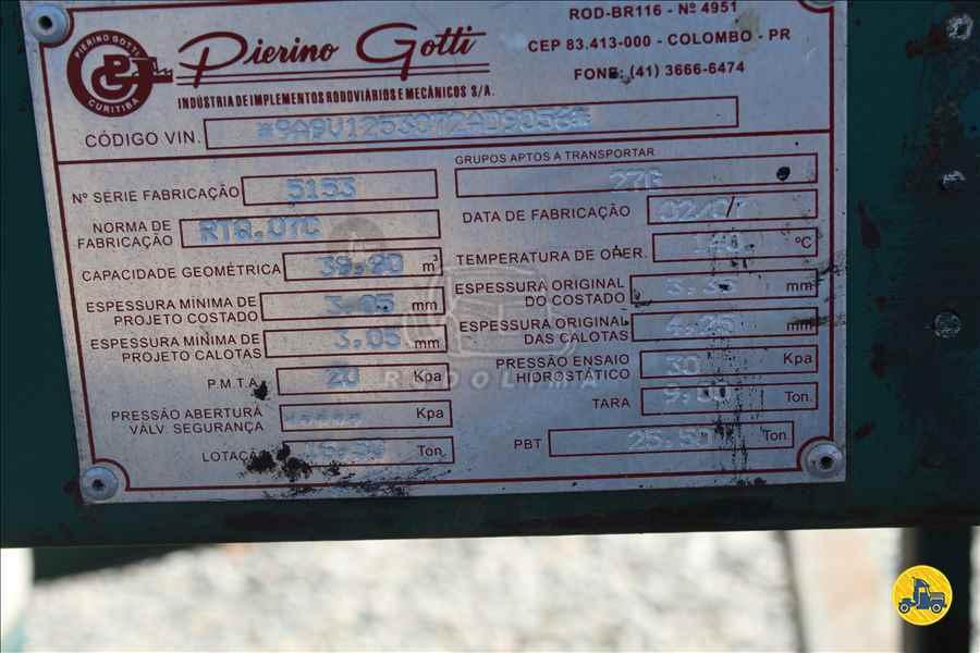 SEMI-REBOQUE TANQUE ISOTERMICO  2007/2007 Rodolima Caminhões