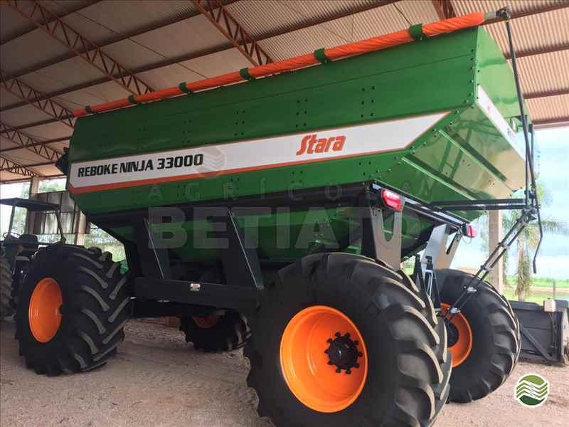 CARRETA AGRÍCOLA CARRETA GRANELEIRA 33000 BAZUKA  2018 Agrícola Betiato - Stara