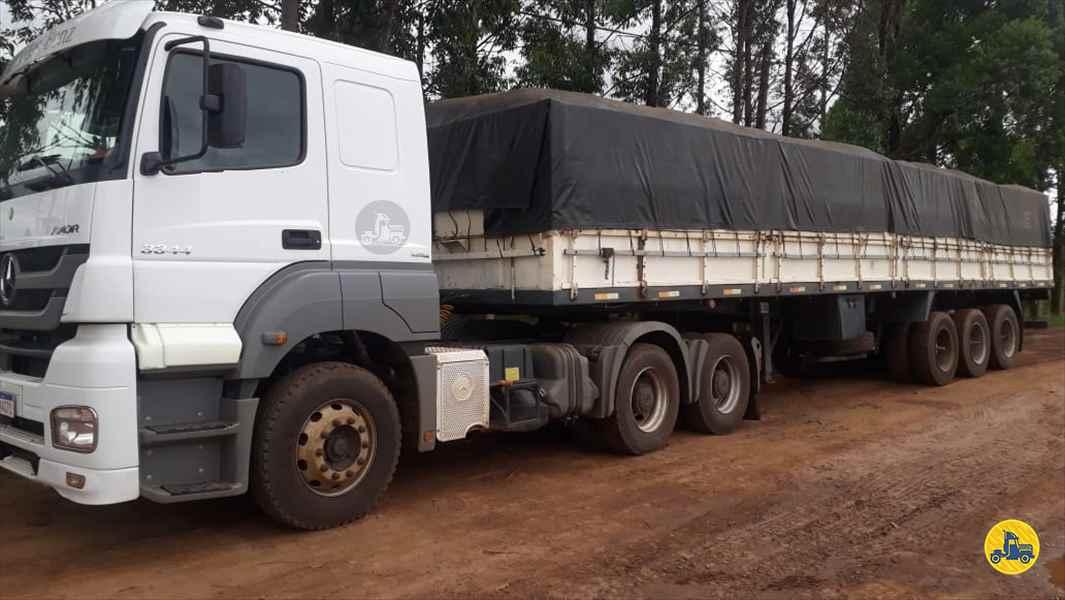 MERCEDES-BENZ MB 3344 207000km 2012/2012 Ebenezer Caminhões e Carretas