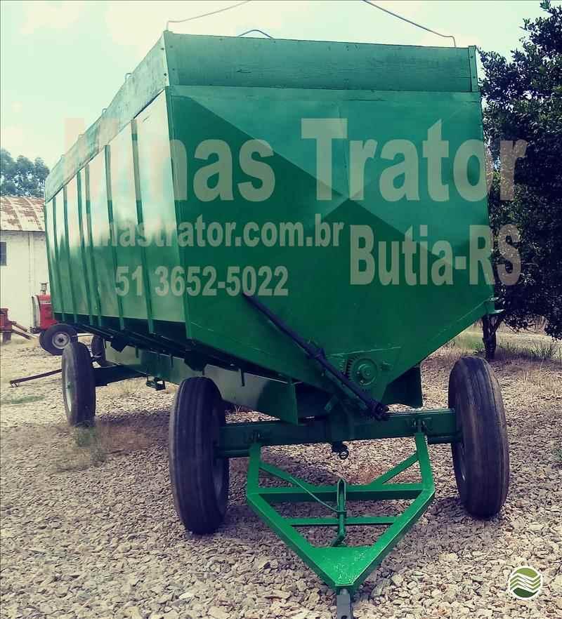 CARRETA AGRÍCOLA CARRETA GRANELEIRA 16000 BAZUKA  2000 Minas Trator