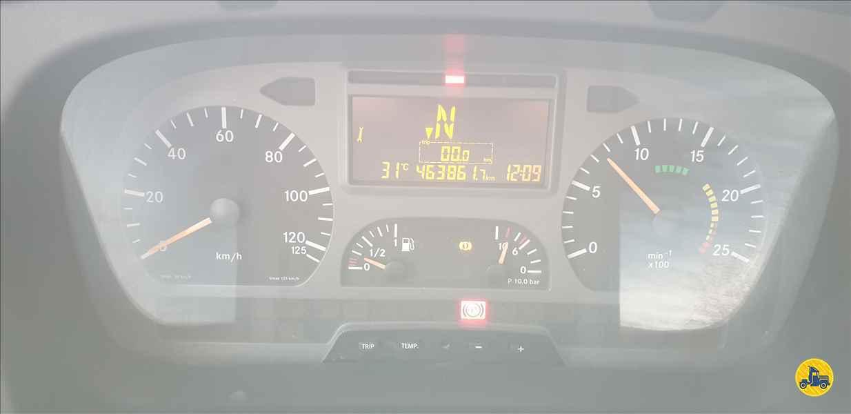 MERCEDES-BENZ MB 2035 463861km 2010/2010 Rápido Caminhões