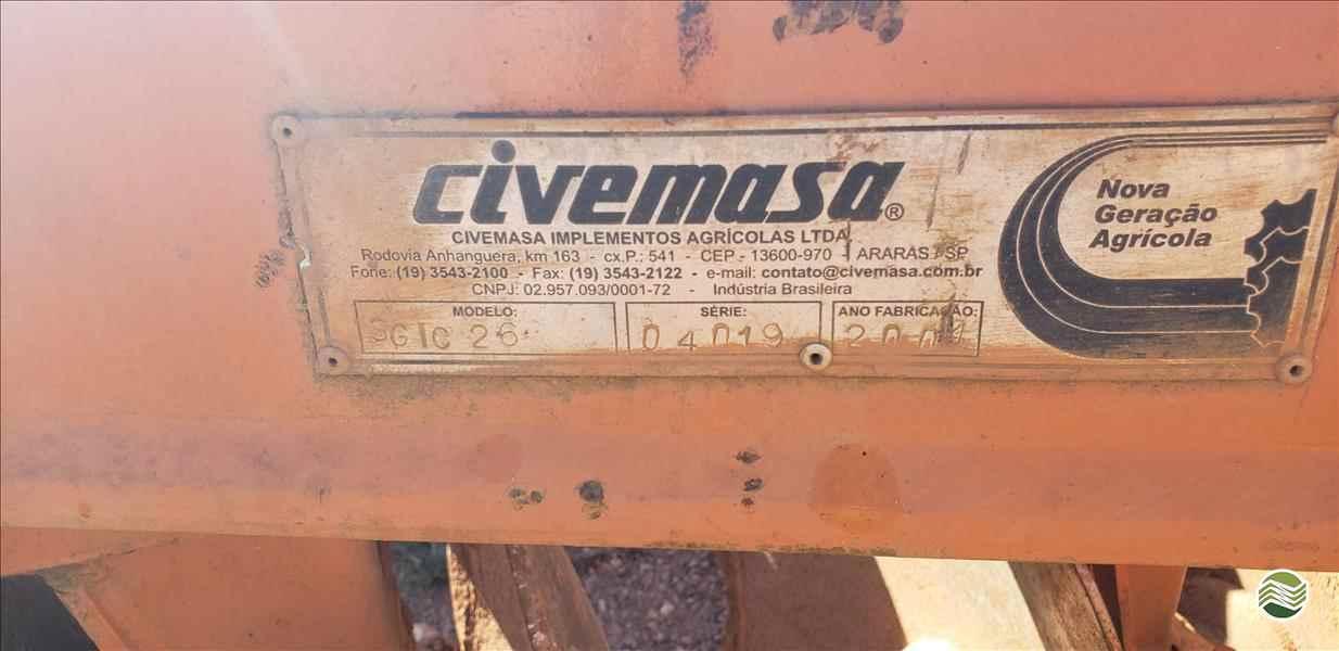 GRADE INTERMEDIÁRIA INTERMEDIÁRIA 26 DISCOS  2000 CMP Máquinas