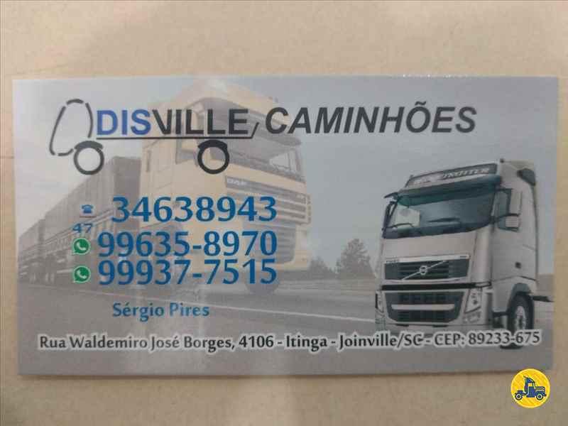 SCANIA SCANIA 420 600000km 2010/2010 Disville Caminhões