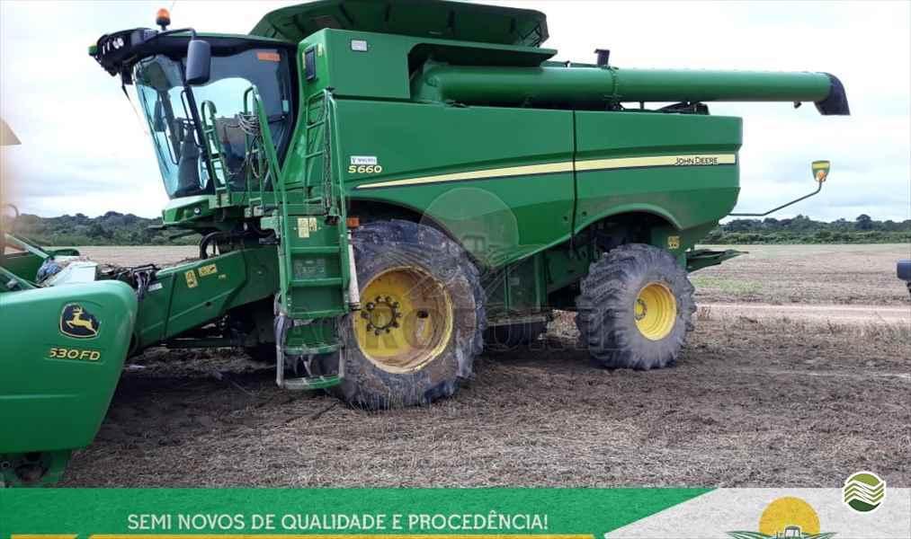 JOHN DEERE JOHN DEERE S660  2016/2016 Agroforte Máquinas