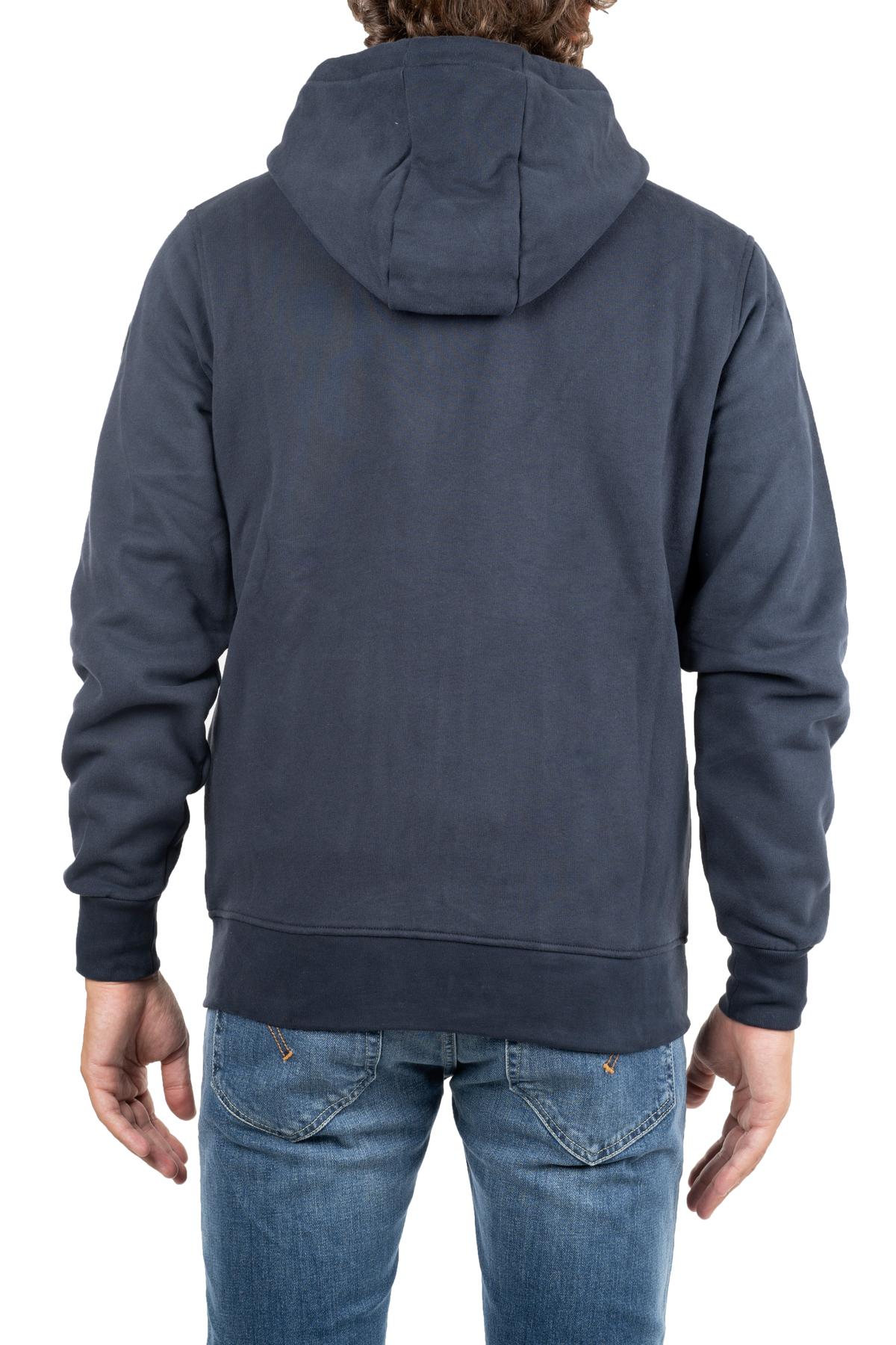 BLUE COTTON SWEATSHIRT WITH LOGO APPLICATION COLMAR | Sweatshirts | 8270SOUNDS9RR68