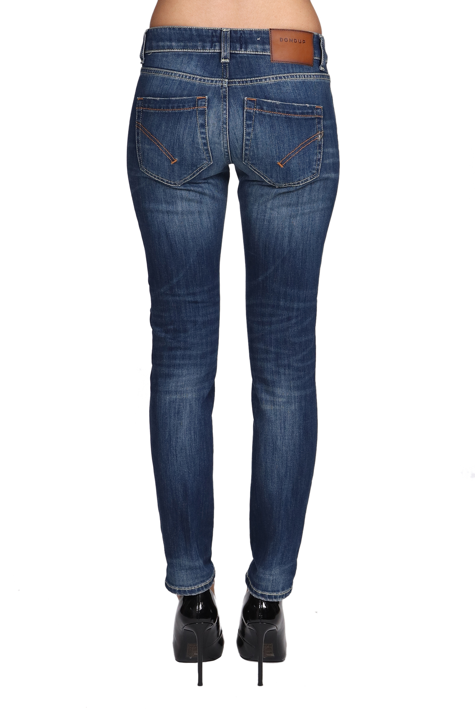 MONROE JEANS IN MIXED COTTON DONDUP | Jeans | P692DS0107DW99PDD800