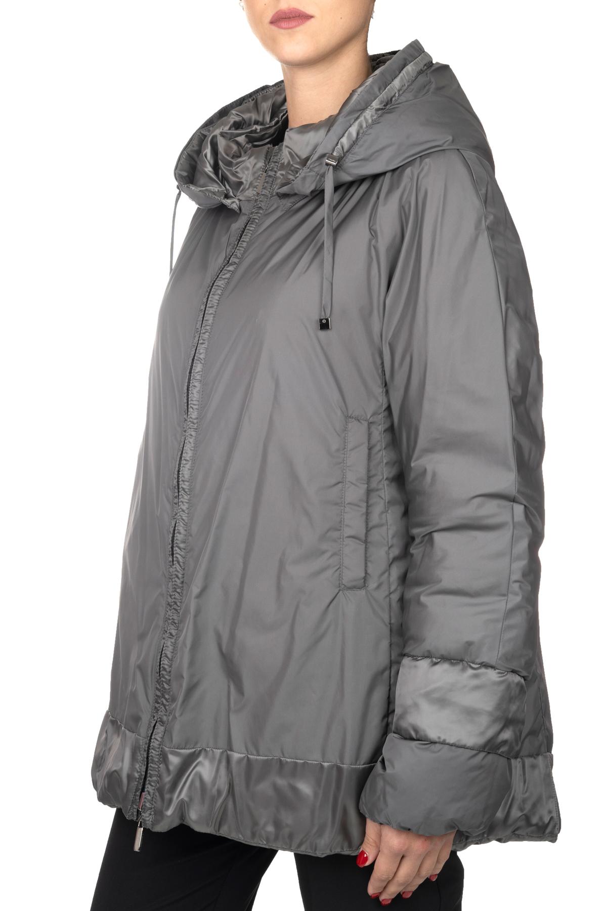 REVERSIBLE GRAY DOWN JACKET IN ANTI-DARK SATIN MAX MARA'S   Jackets   NOVECC9486069660039