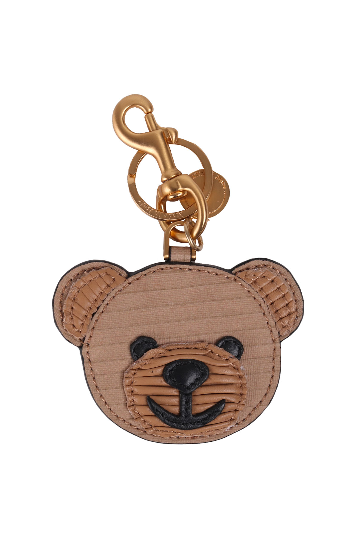 KEYRINGS BEAR CUB MOSCHINO - MOSCHINO - Carbone Boutique 8536ee22227