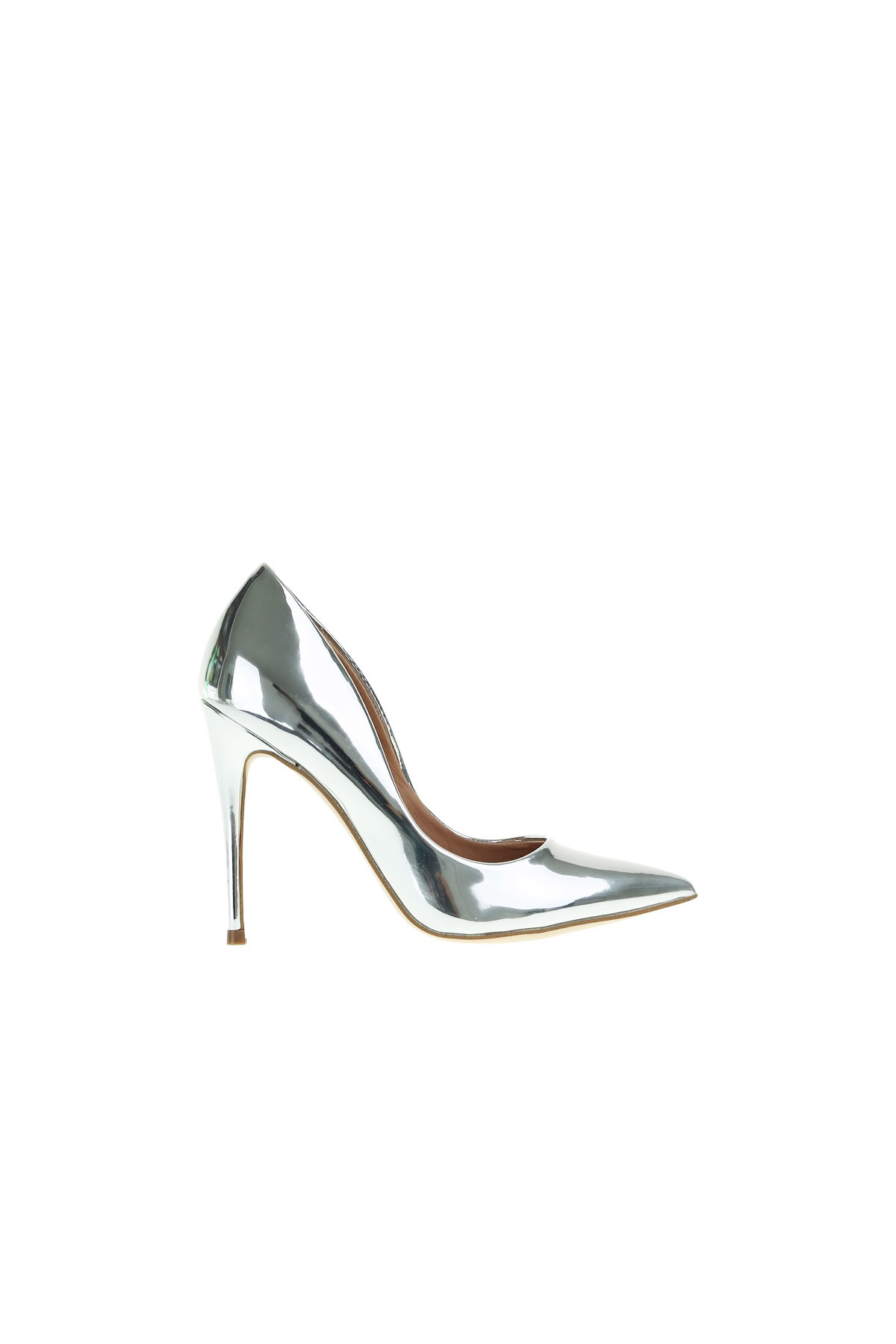 9cfdd4ba131 DECOLLETE  IN MIRRORED LEATHER - STEVE MADDEN - Carbone Boutique
