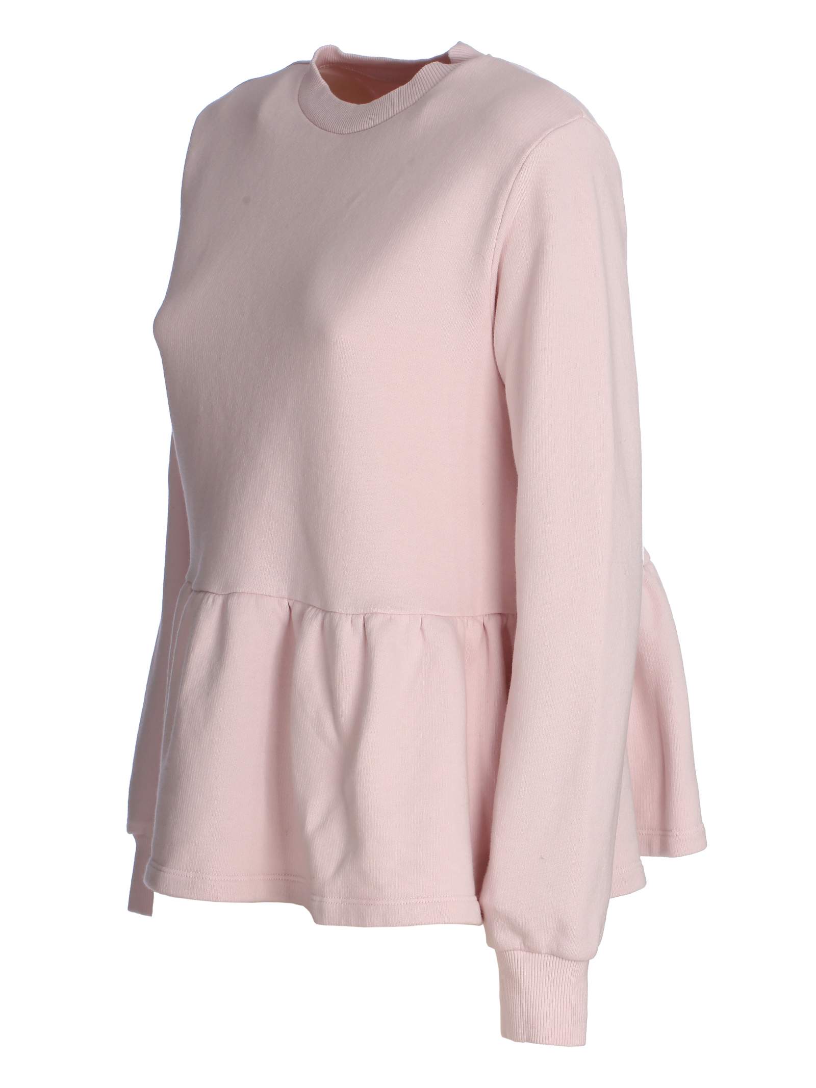 BEATRICE PINK COTTON SWEATSHIRT DOU DOU   Sweatshirts   20SMDDFW000027027