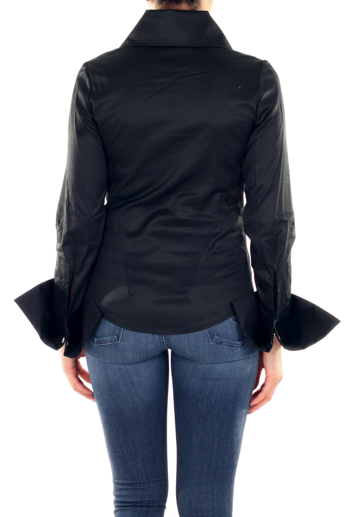 CAMICIA IN COTONE BALOSSA | Shirts | BA0074SNIEGABLACK