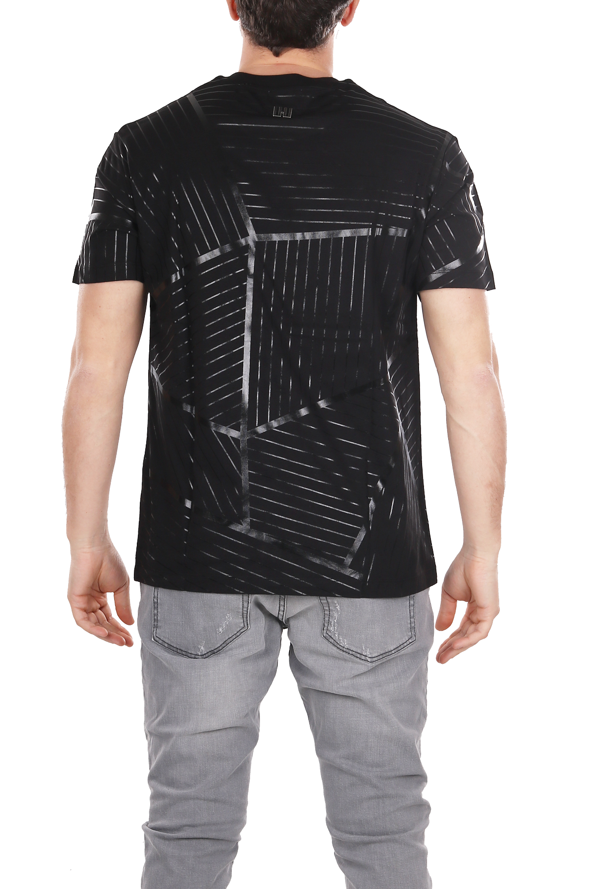 T-SHIRT CON STAMPA LES HOMMES | T-shirt | URE800PUE808A9000