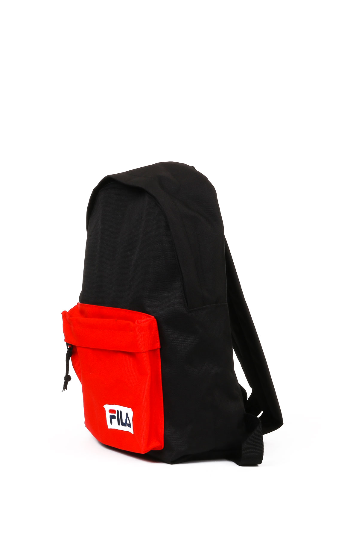 BLACK/RED BICOLOR BACKPACK WITH LOGO FILA | Backpacks | 685043NERO/ROSSO