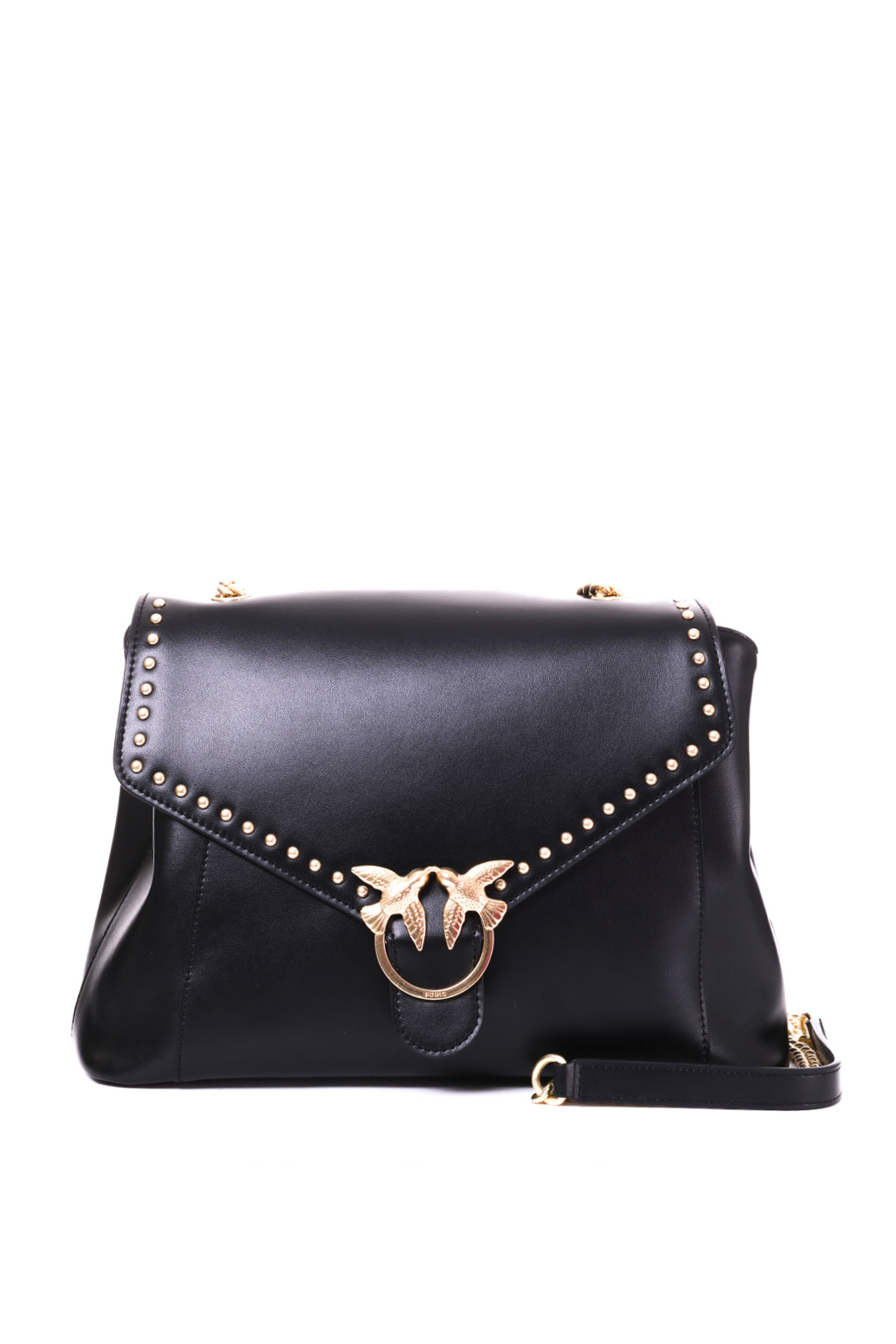 Nera Pinko Simply Boutique Top In Carbone Handle Pelle Borsa ZuPTOikX