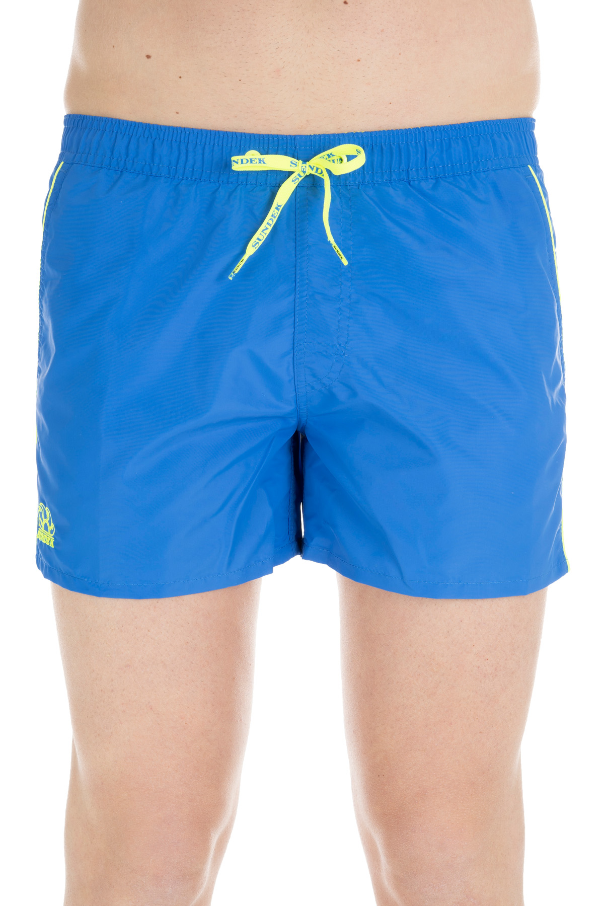 d51a6d5e90 SHORTS BLUE NYLON SWIM SHORT SUNDEK | Swimsuits | M700BDTA100001