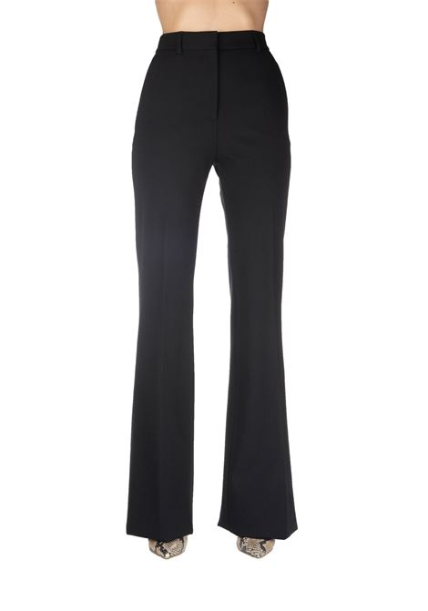 BLACK FLARED TROUSERS ALBERTA FERRETTI | Pants | 03036621555