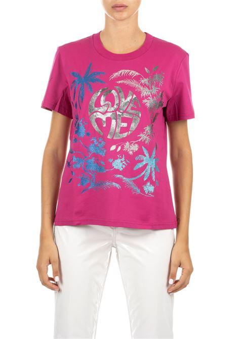 PINK COTTON T-SHIRT ALBERTA FERRETTI | T-shirt | 07015160244
