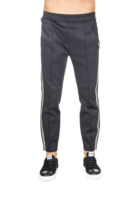 PANTS BLACK SUIT WITH SIDE LOGO PRINT BLACKBARRETT | Pants | PXJP857524