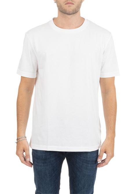 T-SHIRT BIANCA CON MINI LOGO RICAMATO CALVIN KLEIN | T-shirt | K10K103333117