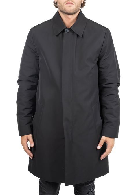 BLACK COVER MAC COAT IN PADDED NYLON CALVIN KLEIN | Coats | K10K104288BDS