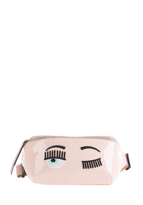 WAIST BAG IN VINYL WITH LOGO CHIARA FERRAGNI |  | CFBB009ROSA