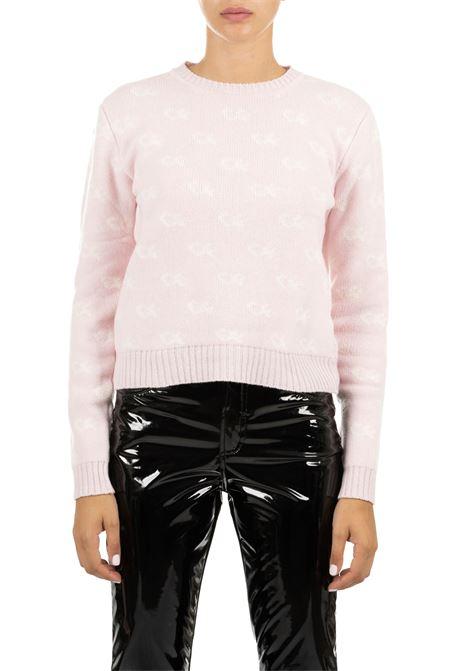 PINK JERSEY IN MERINOS CHIARA FERRAGNI | Sweaters | CFJM034ROSA