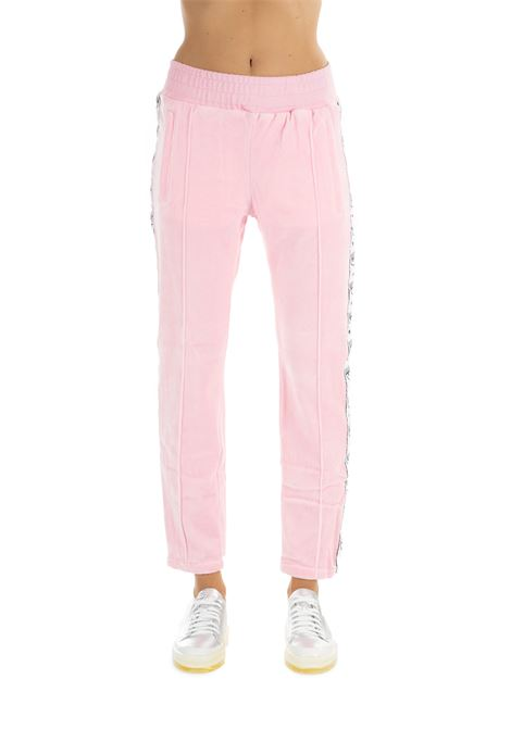 ROSE COTTON SUIT PANTS CHIARA FERRAGNI | Track Pants | CFP032ROSA
