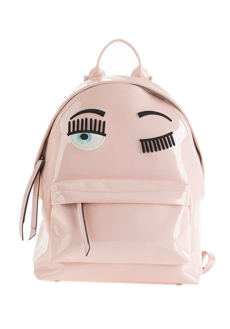 BACKPACK FLIRTING IN VINYL CHIARA FERRAGNI | Backpacks | CFZ055ROSA