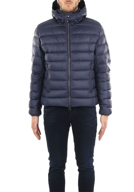 BLU DOWN JACKET WITH LIGHT FEATHER PADDING COLMAR | Jackets | 1250RCONCRETE5ST68