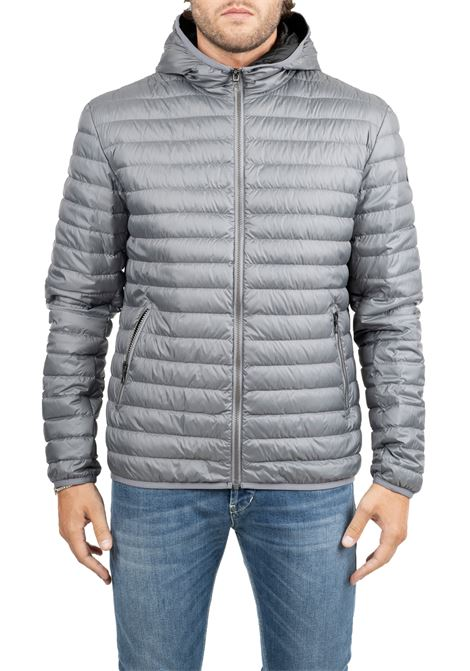 GRAY DOWN JACKET WITH LIGHT FEATHER PADDING COLMAR | Jackets | 1277RFLOID8RQ209
