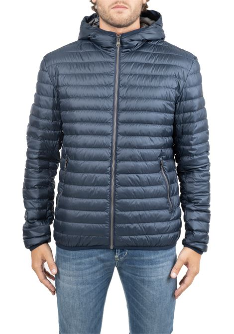 BLUE DOWN JACKET WITH LIGHT FEATHER PADDING COLMAR | Jackets | 1277R68