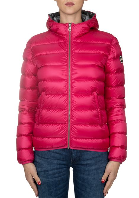 FUCSIA DOWN JACKET WITH HOOD COLMAR | Jackets | 2286NPLACE7QD323
