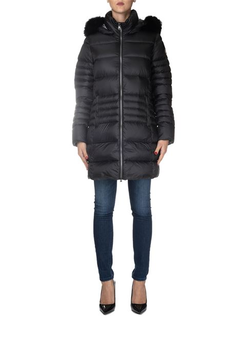 BLACK LONG POLISHED DOWN JACKET COLMAR | Jackets | 2289FPLACE7QD99
