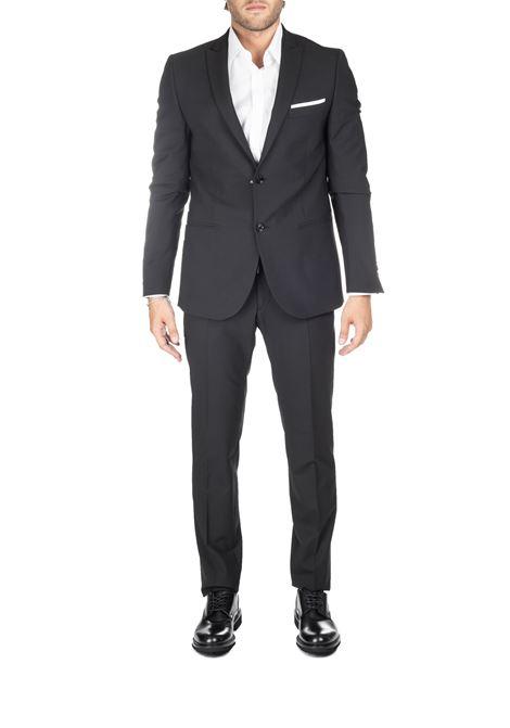 BLACK DRESS FRANCESCO ECO MODEL DANIELE ALESSANDRINI | Dress | A050N91039061