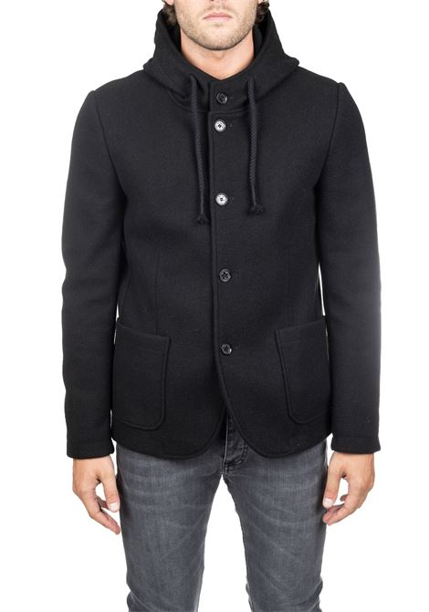 BLACK PRICCIO SF / M COAT DANIELE ALESSANDRINI | Coats | G3018M51039061