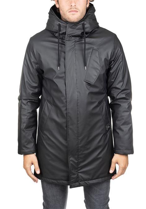 BLACK MESTRE DOWN JACKET DANIELE ALESSANDRINI   Jackets   I803139061