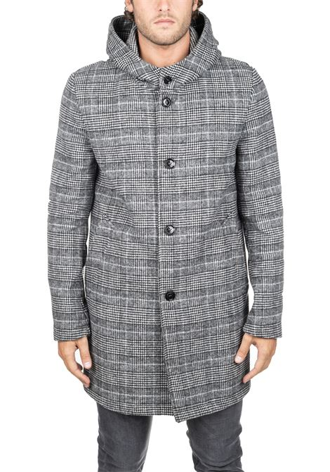 GRAY MIND SF COAT DANIELE ALESSANDRINI | Coats | T479M51439061
